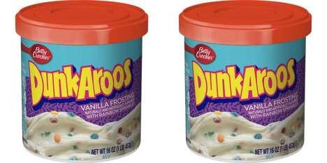 Nostalgic Snack-Infused Icings