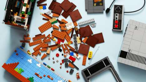 Gaming System Brick Toys