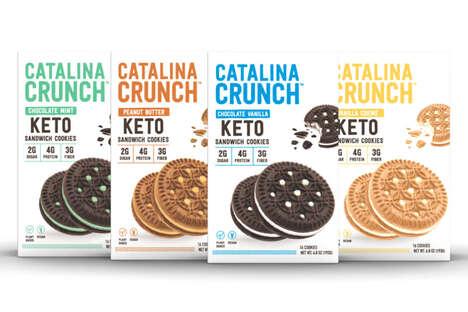 Keto-Friendly Sandwich Cookies