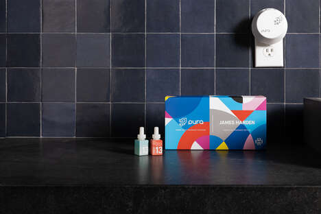 Athlete-Backed Smart Fragrance Diffusers