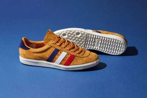 70s Cycling-Themed Sneakers