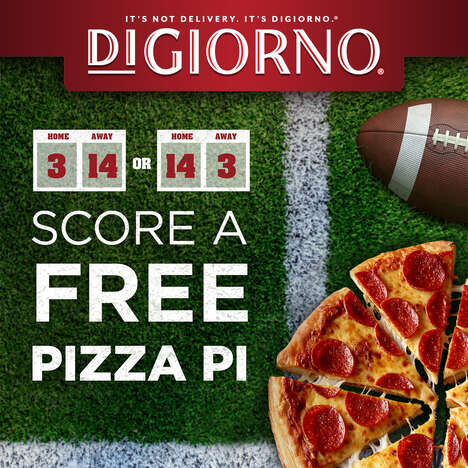 Score-Dependent Pizza Giveaways