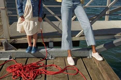 Versatile Algae-Infused Footwear