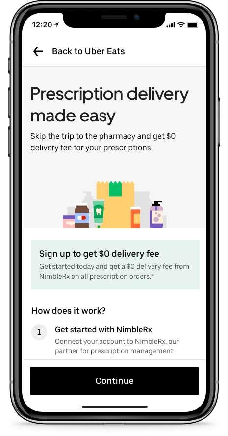 On-Demand Prescription Deliveries