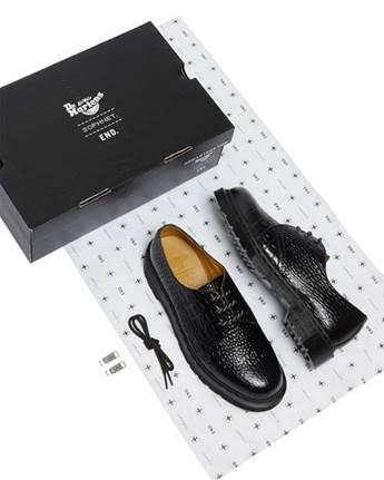 Heritage-Honoring Debossed Shoes