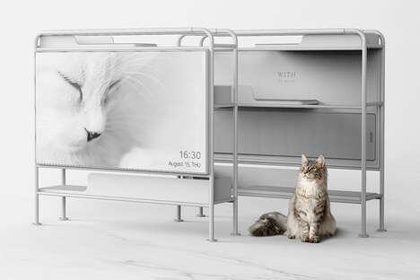 Pet-Friendly TV Furniture