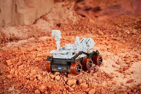 Die-Cast Planetary Exploration Toys