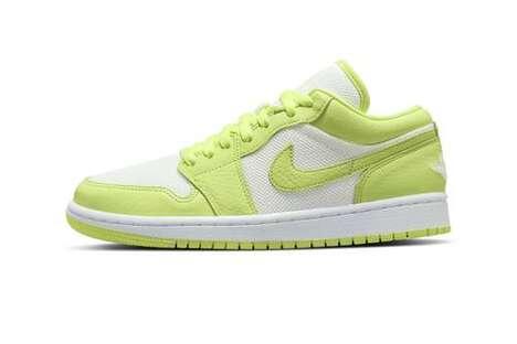 Citrus Themed Tonal Sneakers