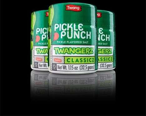 Pickle-Flavored Beer Salts