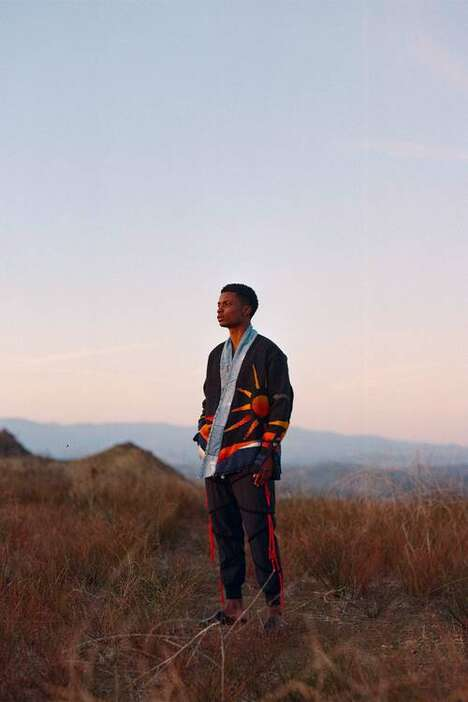 Sustainable Reconstructed Fall Menswear