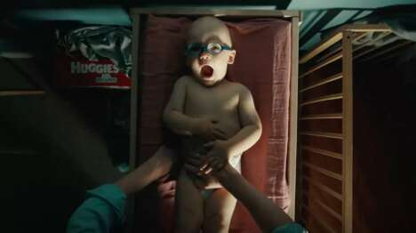 Lighthearted Diaper Ad Trailers
