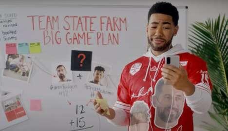 Star-Studded Football Ad Trailers