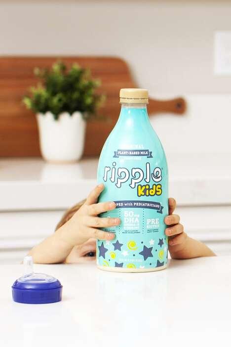 Kid-Friendly Milk Alternatives