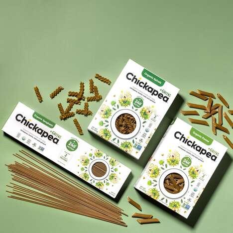 Veggie-Infused Chickpea Pastas
