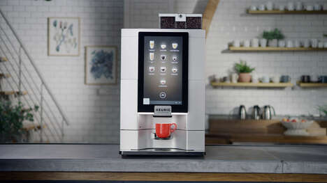 Touchless Coffee Brewers