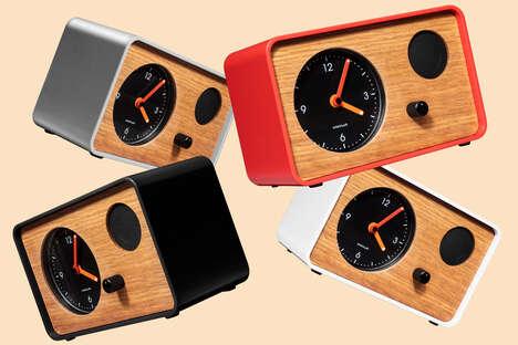 Minimalist AI Clocks