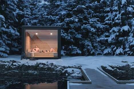 Prefab Sauna Cabins