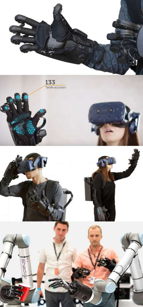 Tactile Feedback VR Gloves