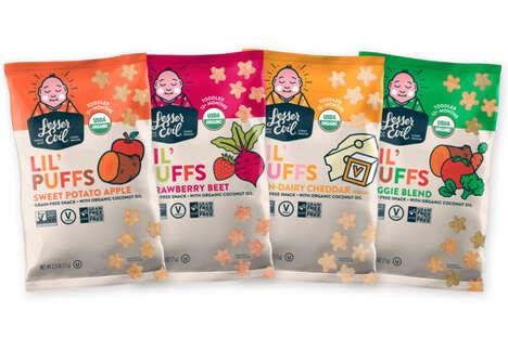 Kid-Friendly Grain-Free Puffs