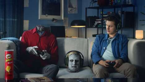 Gamer-Targeted Crisps Campaigns