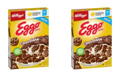 Chocolatey Waffle-Inspired Cereals