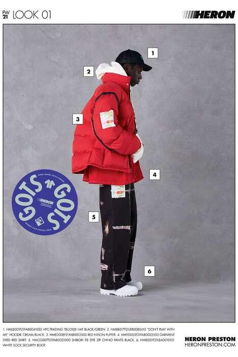 Function-Focused Fall Streetwear