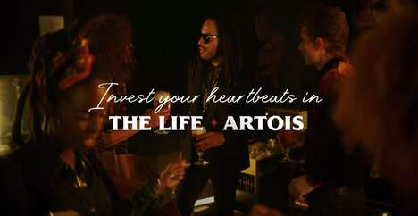 Inspiring Musician Beer Ads