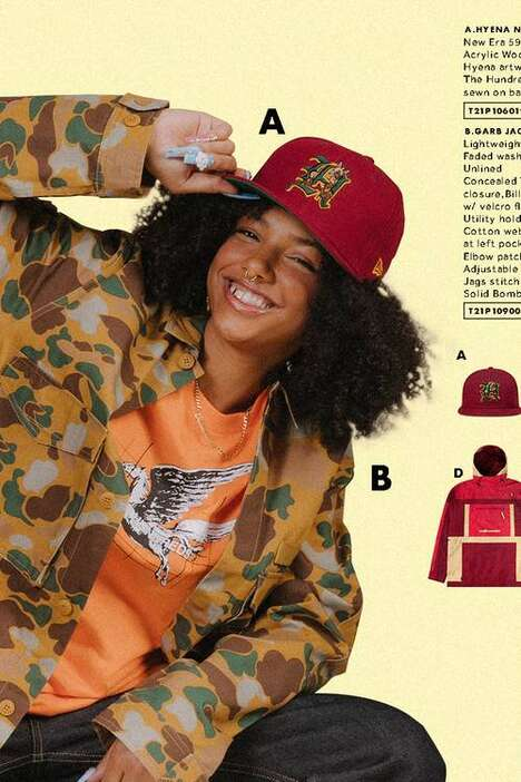 Retro Streetwear-Themed Fashion