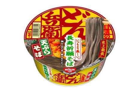 Meter-Long Soba Noodles