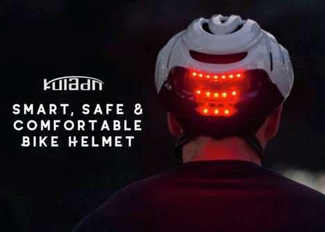 Intelligently Illuminated Bike Helmets