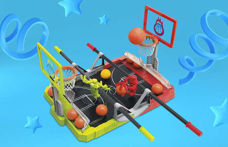 Exciting Hybrid Foosball Games