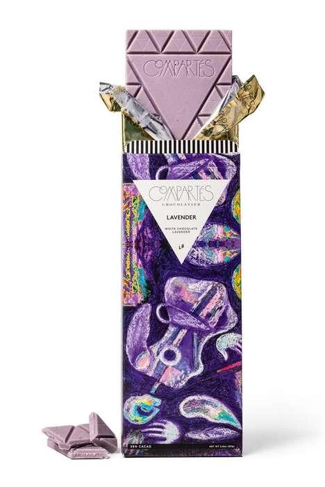 Lavender-Infused Artisan Chocolates