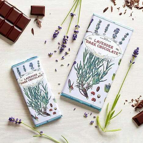 Lavender-Infused Dark Chocolate Treats