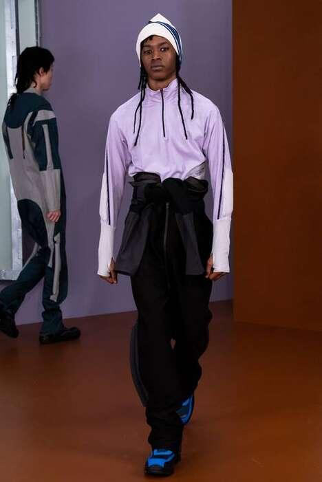 Eclectic Layering Fall Menswear