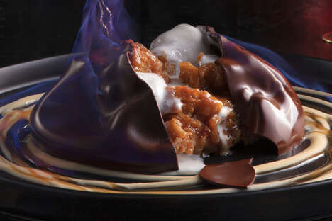 Chocolatey Fire-and-Ice Desserts