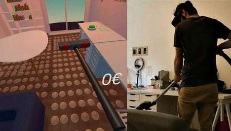 VR Vacuuming Games