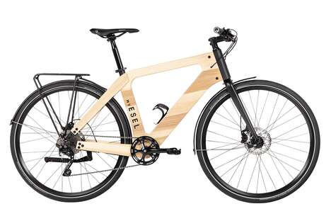 Sustainable Wooden Electric Bikes