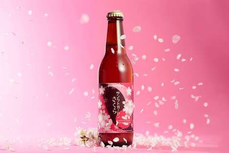 Sakura-Inspired Beers