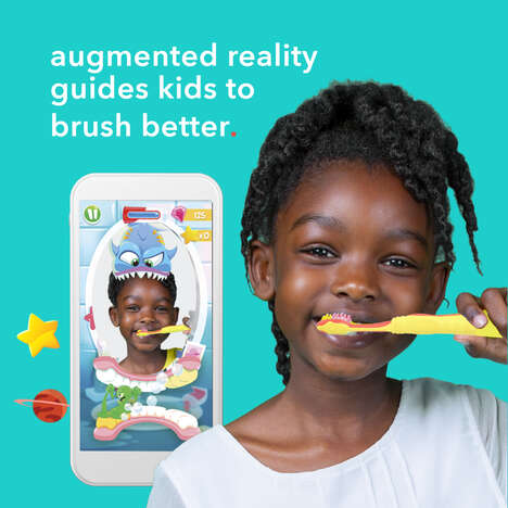 Kid-Friendly Coaching Toothbrushes
