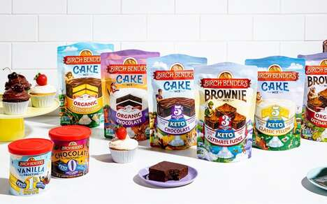 Better-for-You Baking Mixes