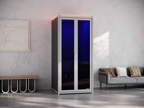 UV-Integrated Privacy Pods