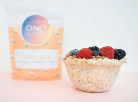 High-Protein Overnight Oats
