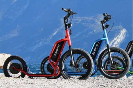 Range-Roving Electric Scooters