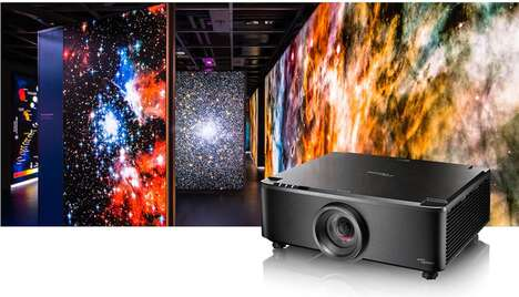 Revolutionary Short Throw Projectors