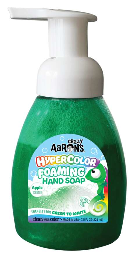 Colorful Foaming Hand Soaps