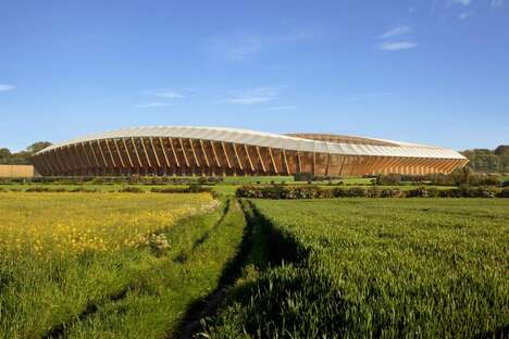 Low Embodied Carbon Wood Stadiums