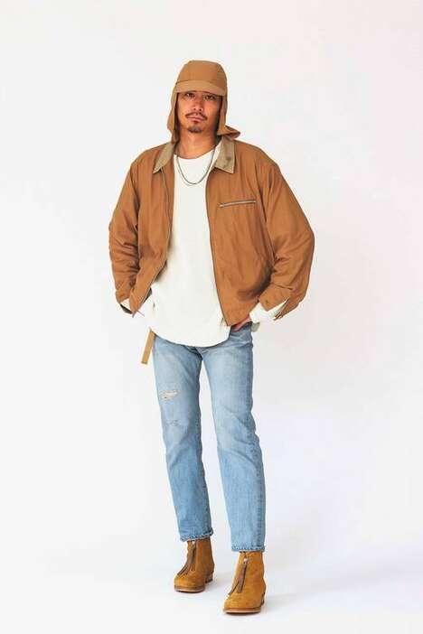 Refined Rugged Spring Menswear