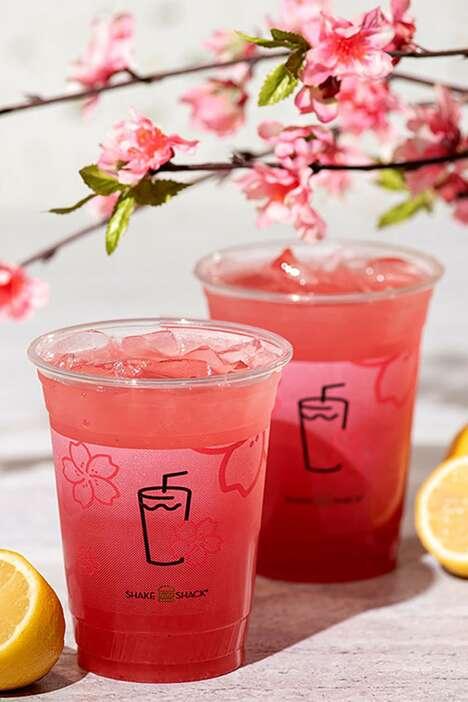 Cherry Blossom-Inspired Drinks