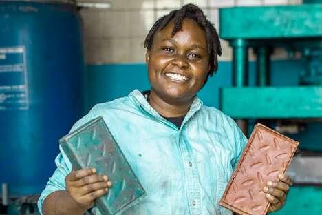 Recycled Plastic Brick Startups