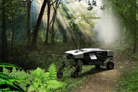 Rugged Terrain-Tackling Robots